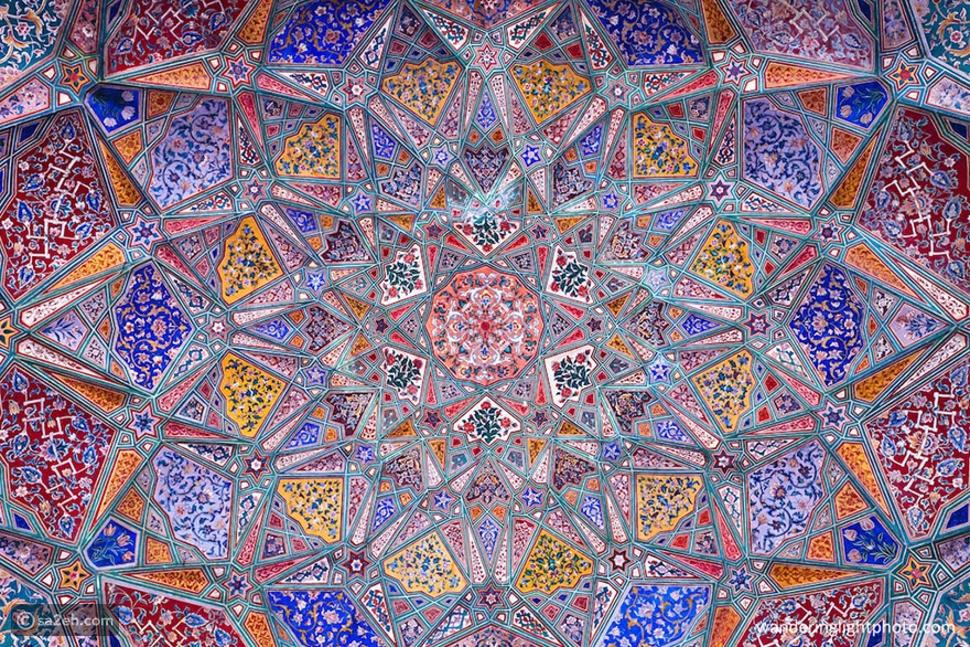 10 أسقف مذهلة من عجائب العمارة الإسلامية