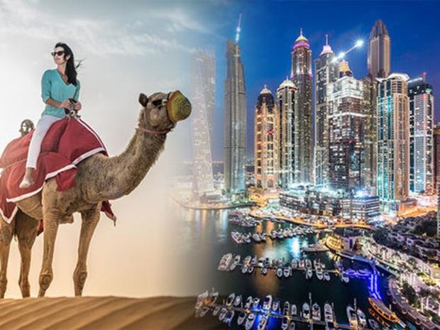 مارأيك في تجربة سياحة السفاري وركوب الجمال في دبي