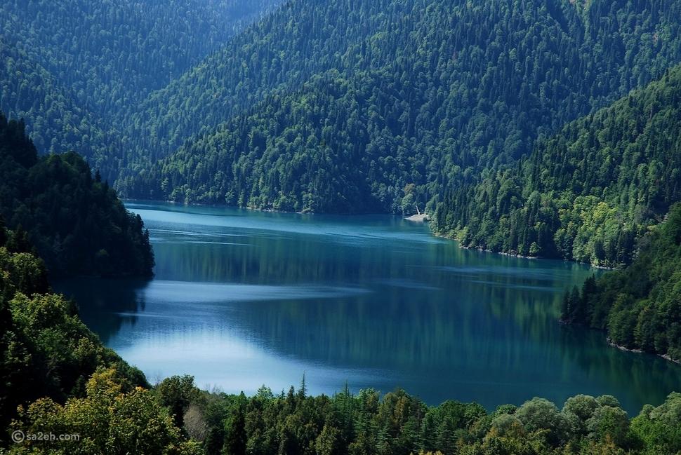 بحيرة ريتسا - السياحة في أبخازيا
