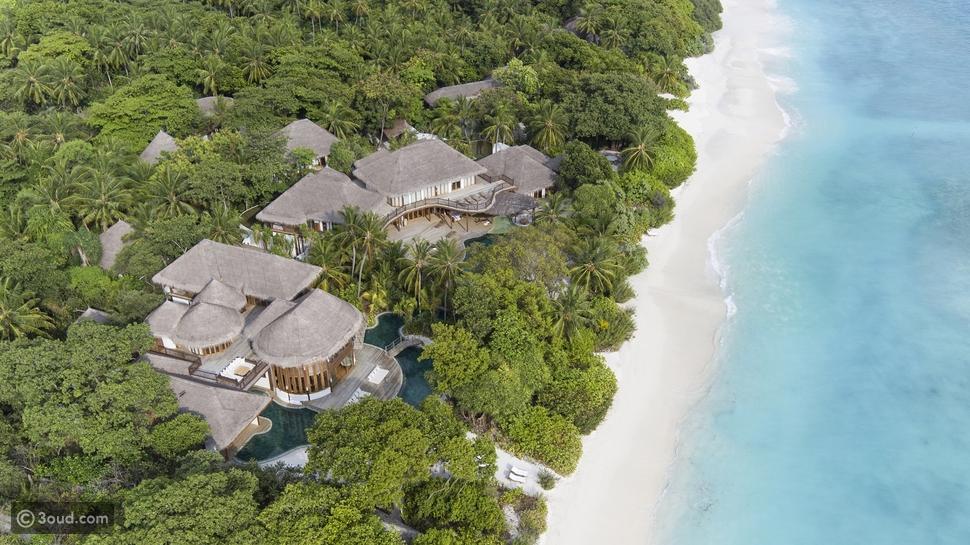 مئة ألف دولار أمريكي لحجز منتجع سونيفا فوشي كاملاً في المالديف ليوم