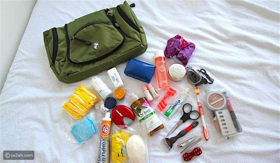 قائمة المستلزمات التي تحتاجها المرأة المسافرة