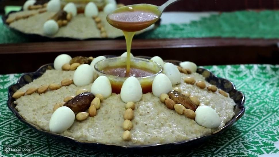 العصيدة أو تاكلا: إحدى الأكلات الشعبية لدى الأمازيغ
