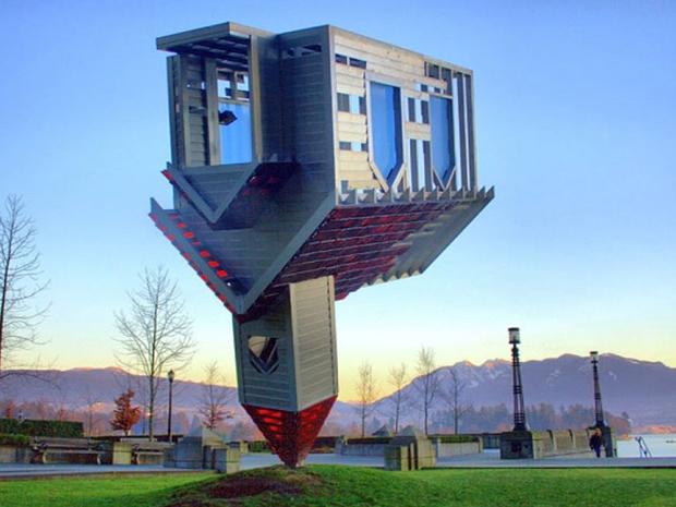 مبنى يستحق المشاهدة من الغرائب والعجائب