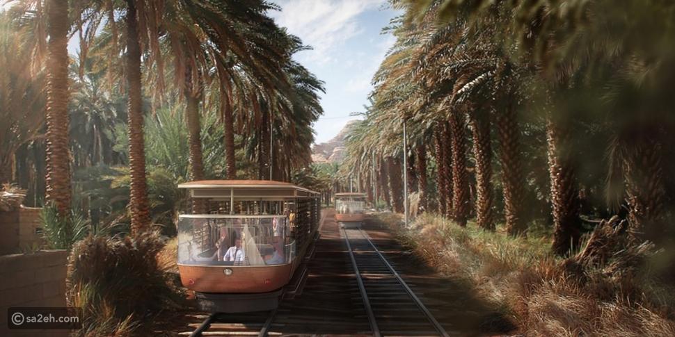 """يضم مخطط """"رحلة عبر الزمن"""" لتطوير العلا مشروع قطار سياحي"""