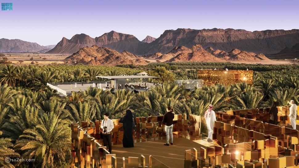 يتناغم مخطط رحلة عبر الزمن لتطوير محافظة العلا مع مبادرة السعودية الخضراء
