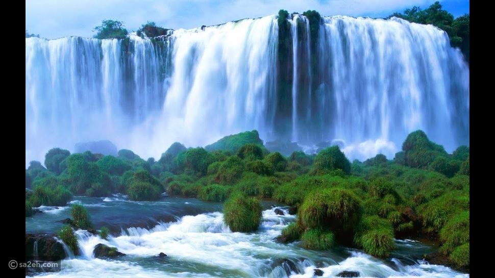 شاهد حصرياً أجمل الشلالات في العالم التي تستحق زيارتك