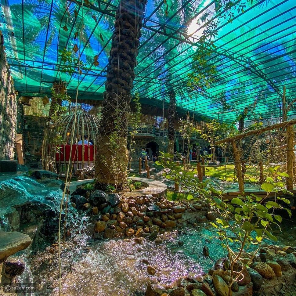 تُعد محمية الأوسية بمثابة متحف صغير لما كانت عليه المدينة في عهد رسول الله