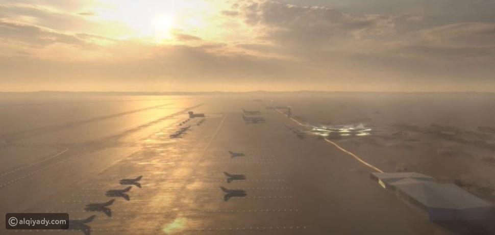 شاهد مطار أمالا الدولي الجديد: مستوحى من سراب صحراء السعودية