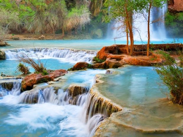 أبرز المعالم السياحية حول العالم وشلالات الاريزونا