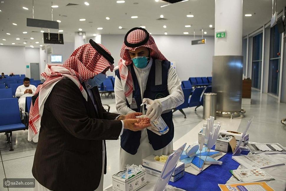 هكذا يتم تعقيم المطارات في السعودية لمنع انتشار فيرورس كورونا