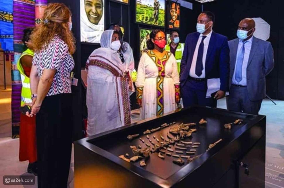"""الجدة """"لوسي"""" تستقبل أحفادها بعد 3 ملايين سنة في إكسبو 2020 دبي"""