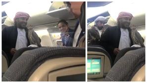 فيديو: بين خوف وسرور .. ملايين المشاهدات لصقور عربية على متن رحلة جوية