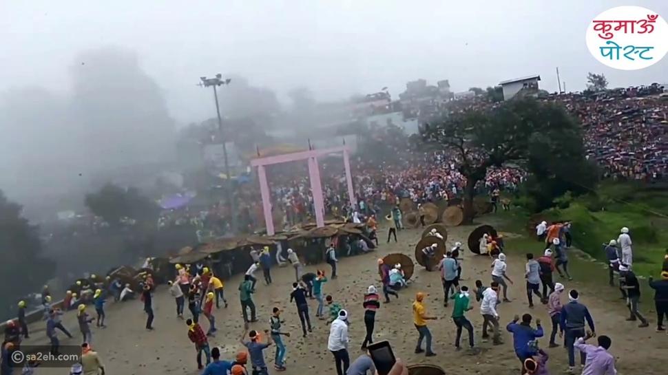التقاذف بالحجارة.. مهرجان خطير في الهند