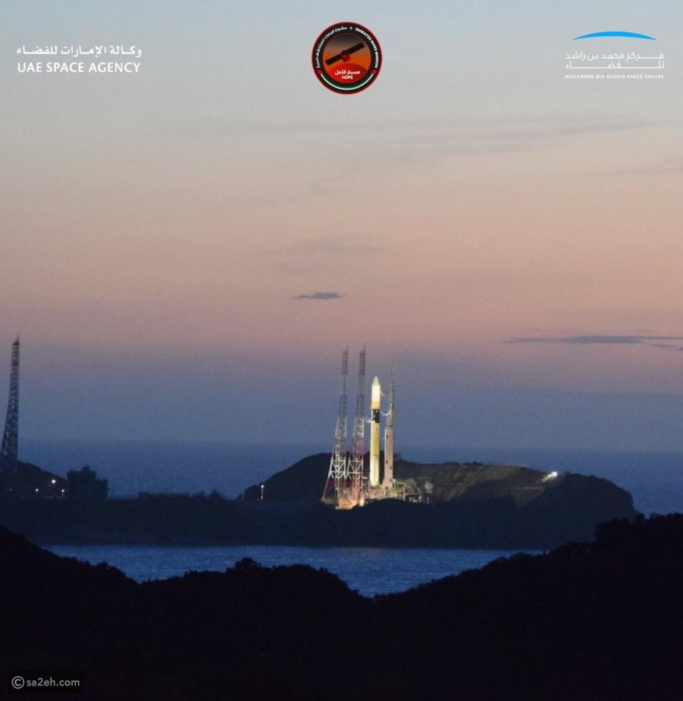 شاهد: لحظة إطلاق مسبار الأمل الإماراتي في أول رحلة عربية إلى المريخ
