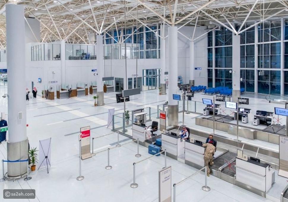 جانب من مطار عرعر الجديد في السعودية