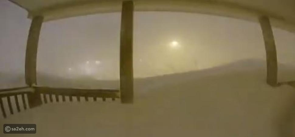 شاهد بتقنية  Time lapse: عاصفة ثلجية تدفن مقاطعة كندية تحت الجليد