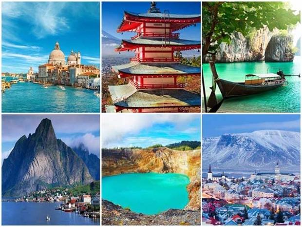 مجموعة من أروع الوجهات السياحية التي تستحق زيارتك