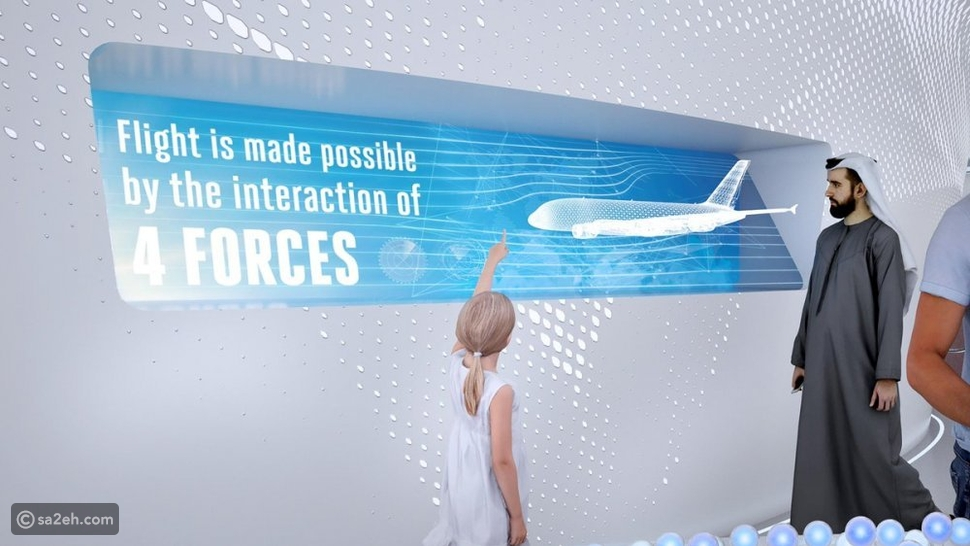 جناح الإمارات للطيران في معرض إكسبو 2020 وأروع التقنيات في جناح الفرص