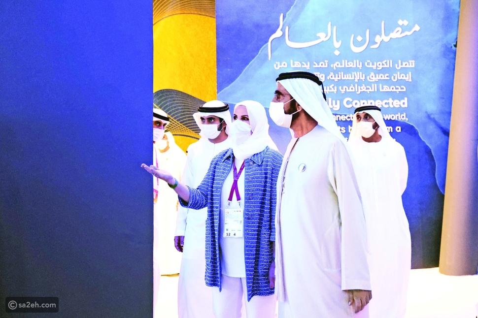 محمد بن راشد يزور أجنحة الدول في معرض إكسبو دبي 2020 بالصور والفيديو