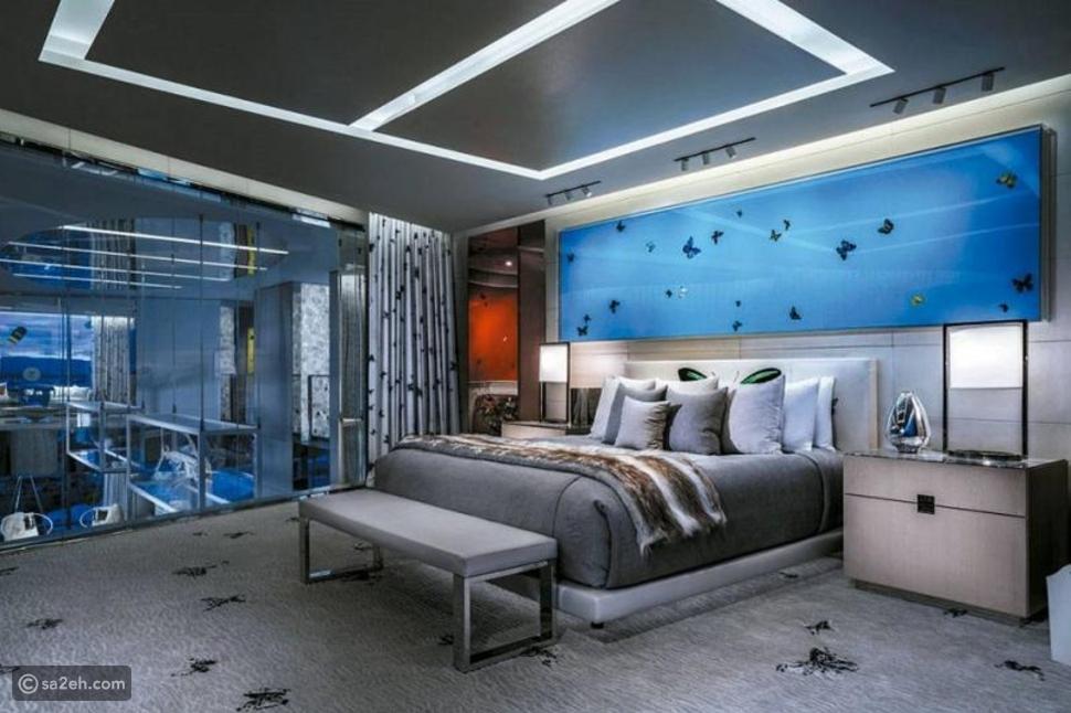 شاهد: هل تقيم في هذا الجناح مقابل 100 ألف دولار في الليلة؟