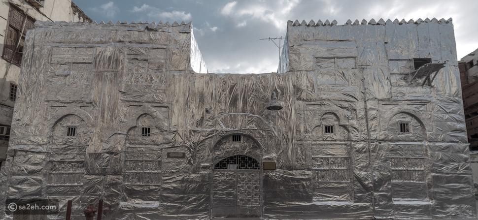 لا علاقة لكورونا: ما قصة المنزل المغلف بالقصدير في السعودية؟