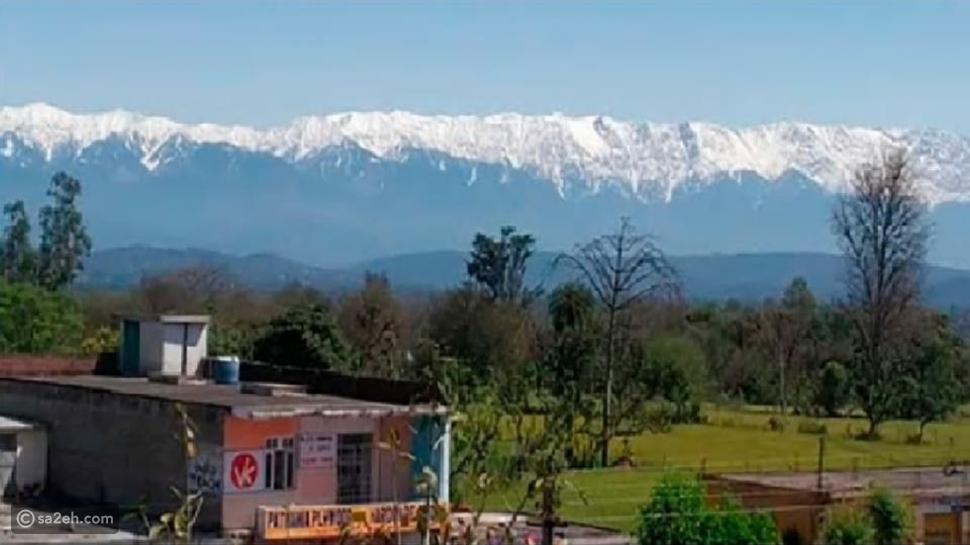 بفضل كورونا: جبال الهيمالايا تلوح في أفق الهند